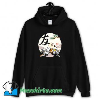 Cheap Charlie Brown Woodstock Snoopy Japanesque Hoodie Streetwear