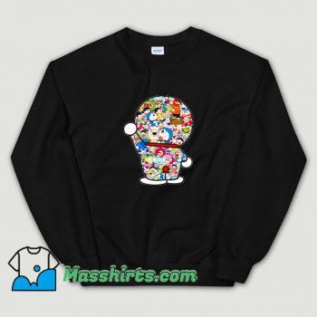 Cheap Doraemon Mosaic With Takashi Sweatshirt