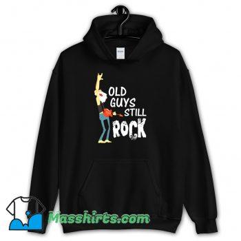 Cheap Old Guys Still Rock Hoodie Streetwear