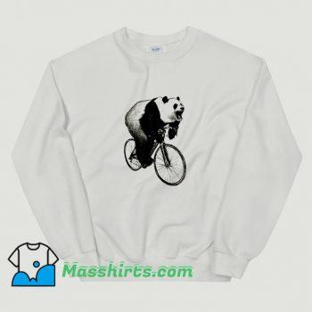 Cheap Panda Cycling Sweatshirt
