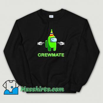 Classic Among Us Green Crewmate Sweatshirt
