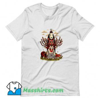 Classic Anime Manga Ghibli Totem T Shirt Design