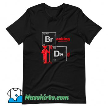Classic Breaking Dad Chemical Elements T Shirt Design