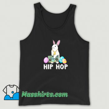 Classic Hip Hop Bunny Easter Eggs Tank Top