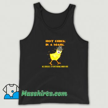 Classic Hot Chick Wearing A Mask Tank Top