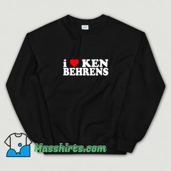 Classic I Love Ken Behrens Sweatshirt