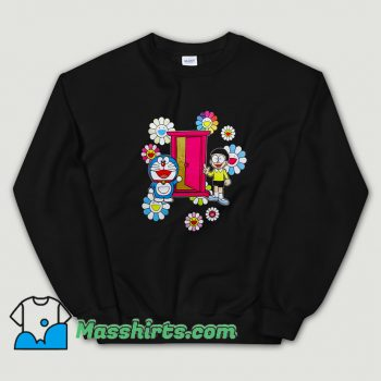 Classic Uniqlo x Doraemon Big Doraemon Nobita Character Sweatshirt