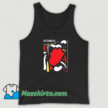 Classic Warsaw The Rolling Stones Abstract Tank Top