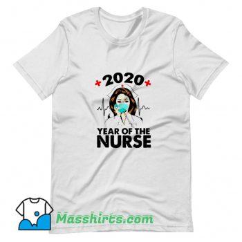 Cool 2020 Year Of Nurse T Shirt Design