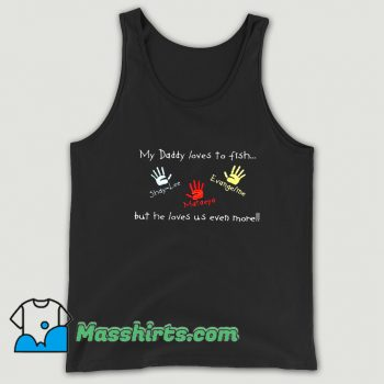 Cool Great Fathers Day With Hand Tank Top