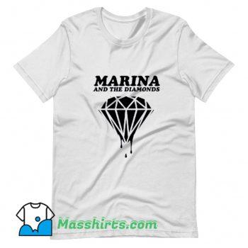 Cool Marina and The Diamonds T Shirt Design