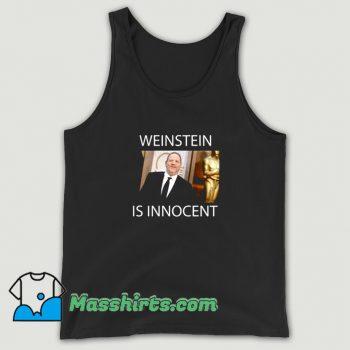 Cool Photo Harvey Weinstein Is Innocent Tank Top