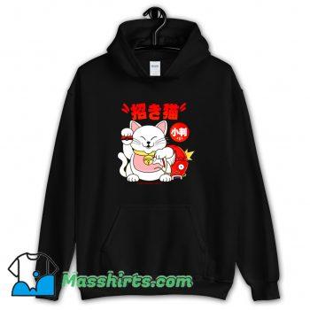 Cool Poke Maneki Neko Hoodie Streetwear
