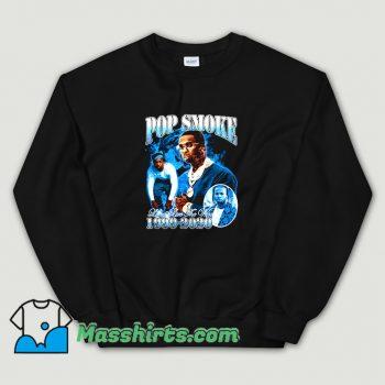 Cool Rap Pop Smoke Live The Woo Sweatshirt