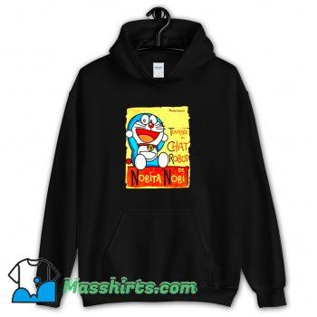 Cool Tournee Du Chat Robot De Nobita Nobi Hoodie Streetwear