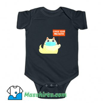 Cover Your Meowth With Mask Baby Onesie