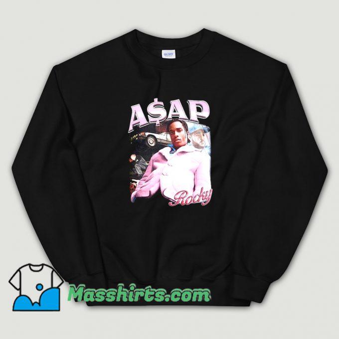 Cute Asap Rocky Rap Hip Hop Sweatshirt