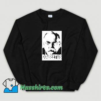 Cute Diabeetus Wilford Brimley Meme Sweatshirt