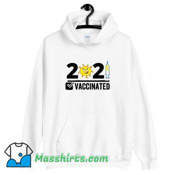 Cute Get Vaccinated USA 2021 Hoodie Streetwear