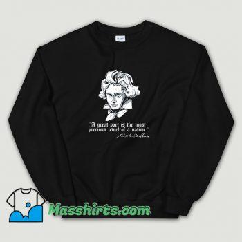 Cute Ludwig Van Beethoven German Composer Sweatshirt