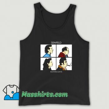 Cute Nothing Days Seinfeld Comedy Tank Top