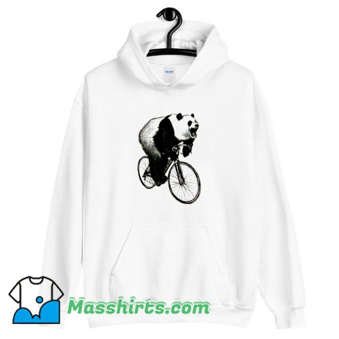 Cute Panda Cycling Hoodie Streetwear