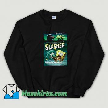 Cute Spongebob The Hash Slinging Slasher Sweatshirt