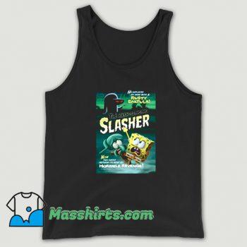 Funny Spongebob The Hash Slinging Slasher Tank Top