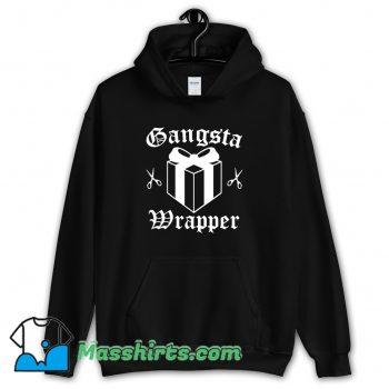 Gangsta Wrapper Christmas Hoodie Streetwear On Sale