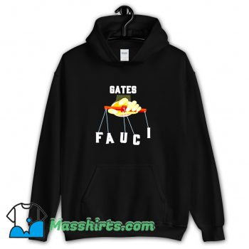 Gates Fauci Bill Gates And Anthony Fauci Hoodie Streetwear