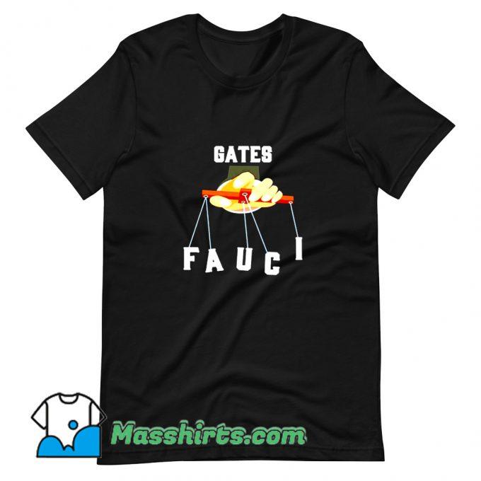 Gates Fauci Bill Gates And Anthony Fauci T Shirt Design