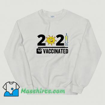 Get Vaccinated USA 2021 Sweatshirt On Sale