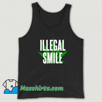 John Prine Illegal Smile Logo Tank Top