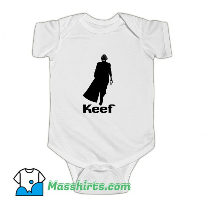 Keef Keith Richards Funny Baby Onesie
