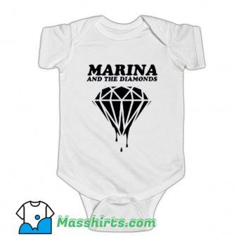 Marina and The Diamonds Baby Onesie