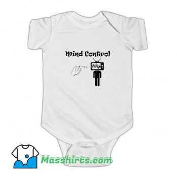 Mind Control Vaccinated Vaccination Baby Onesie