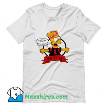 New Bengals Fan Bart Simpson T Shirt Design
