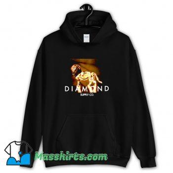 New Diamond Supply Geo Lion Hoodie Streetwear
