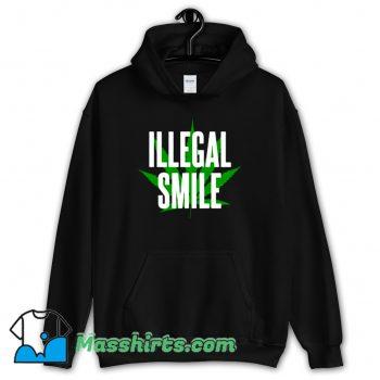 New John Prine Illegal Smile Logo Hoodie Streetwear