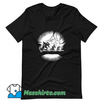 New Moonlight Water Monsters T Shirt Design