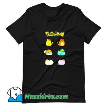 New Pushemon Pokemon T Shirt Design