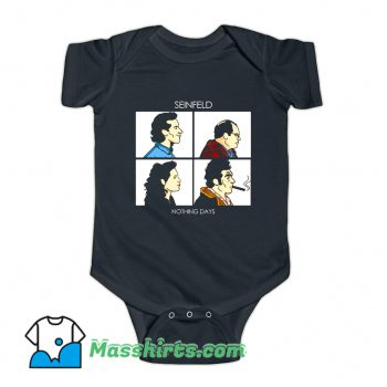 Nothing Days Seinfeld Comedy Baby Onesie