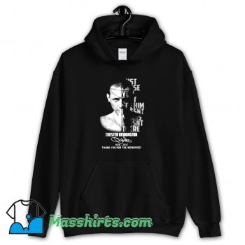 Original Chester Bennington Thank You For Memories Hoodie Streetwear