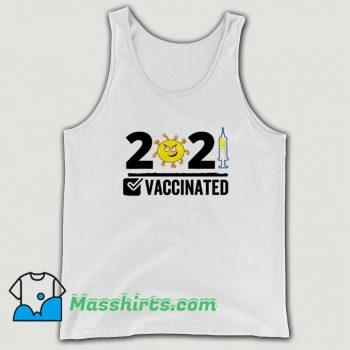 Original Vaccinated USA 2021 Tank Top