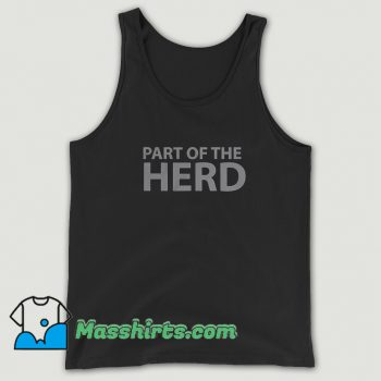 Original Part Of The Herd Group Tank Top