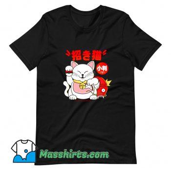 Original Poke Maneki Neko T Shirt Design