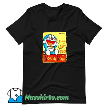 Original Tournee Du Chat Robot De Nobita Nobi T Shirt Design