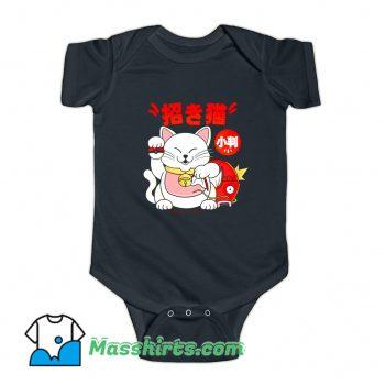 Poke Maneki Neko Baby Onesie