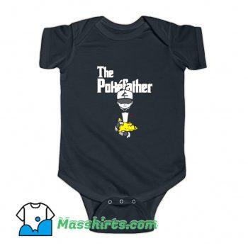 Pokemon The Pokefather The Godfather Baby Onesie