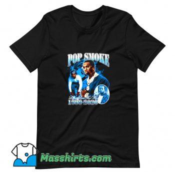 Rap Pop Smoke Live The Woo T Shirt Design On Sale